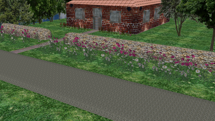 MMD Road in Forest Stage - DOWNLOAD