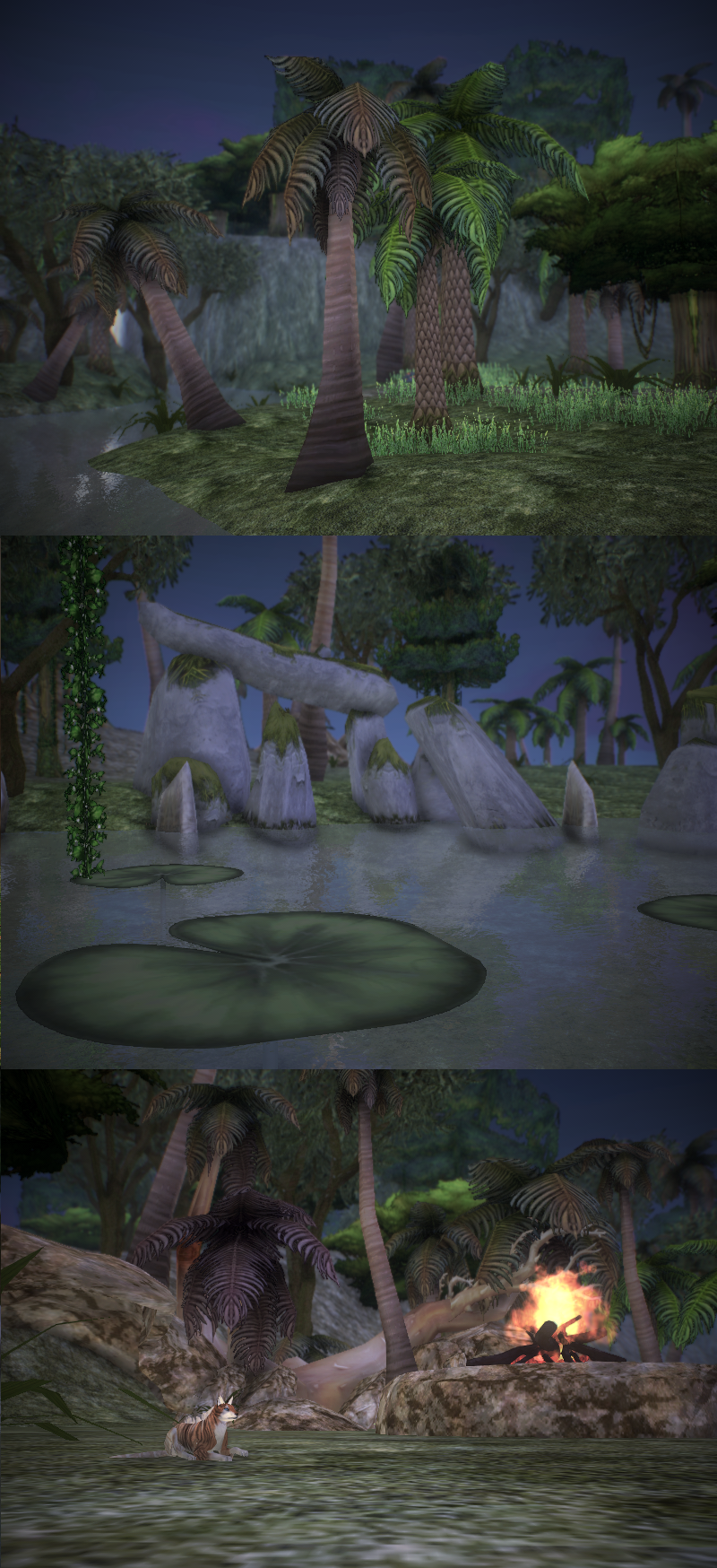 Feral Heart: Feral Heart: Palm Island Map *Download* By Feral-Hyena On