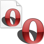Opera 9.2 Icons and Dock Icons by radeonator