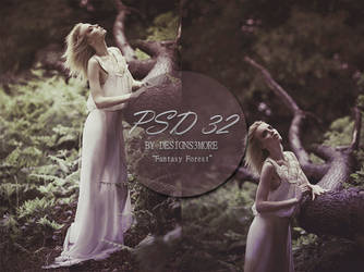 PSD Free By Designs And More 32 Fantasy Forest