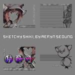 R4DS Skin: Sketchy Shiki