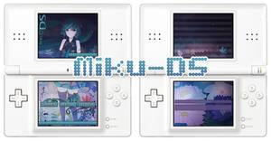 R4DS Skin: Hatsune Miku DS by Aeryn-Seoung