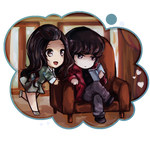 Commission : Shan Shan x Feng Teng by AliceofBunny