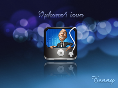 Ipod icon HD by Tenny0404