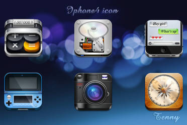 Iphone4 HD by Tenny0404