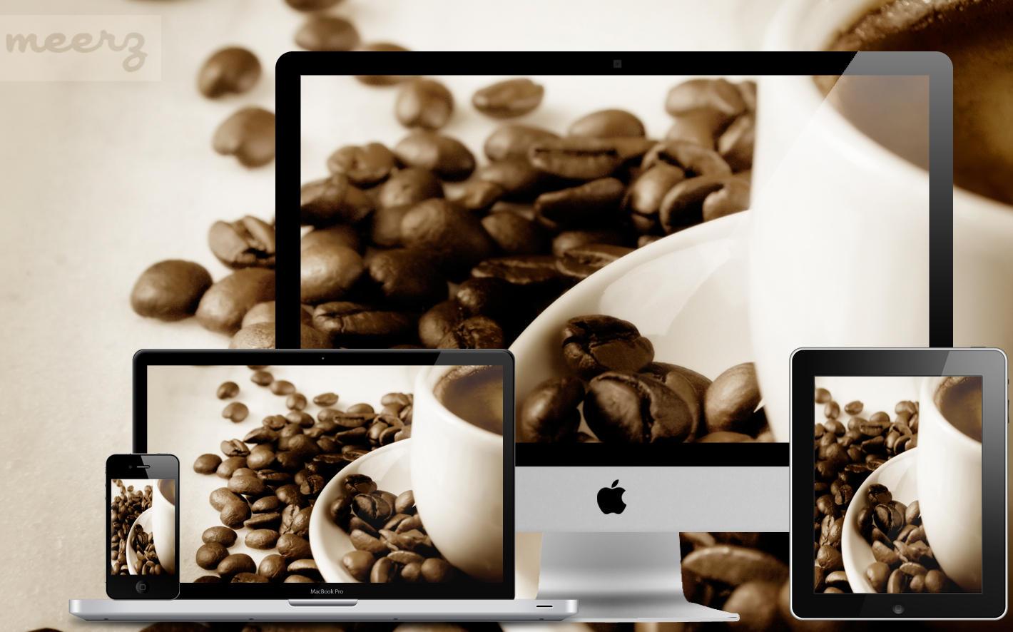 Wallpaper 15 - Morning Coffee by xmeerzx