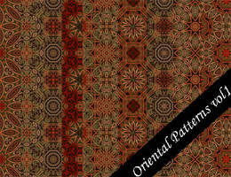 Oriental Pattern Set Vol.1 by emmaalvarez