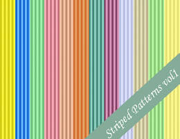 Striped Seamless Patterns Vol1 by emmaalvarez