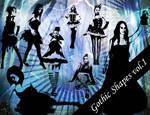 Gothic Photoshop Shapes Vol.1