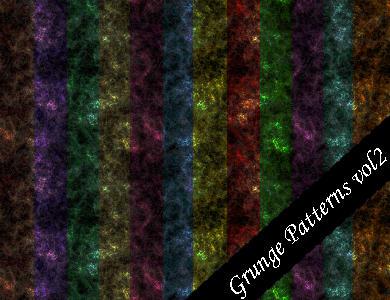 Grunge Seamless Patterns Vol.2 by emmaalvarez