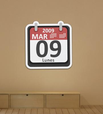 Sticker Calendar by alexgt04