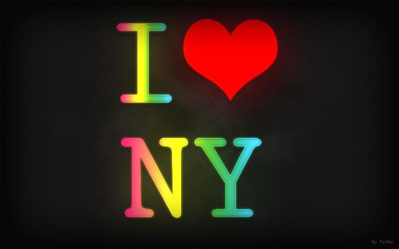 I Love Ny Wallpaper Iphone : I Love NY by Franatix on DeviantArt