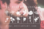 {25 Roses Brushes}