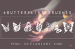 {6 Butterflies Brushes}