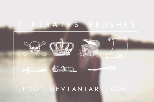 {7 Pirates Brushes} by Poqi