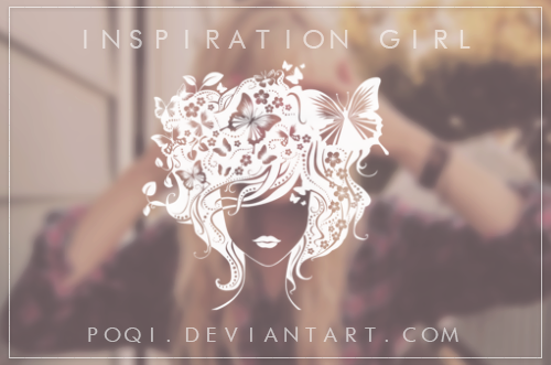 {Inspiration girl - brush} by Poqi