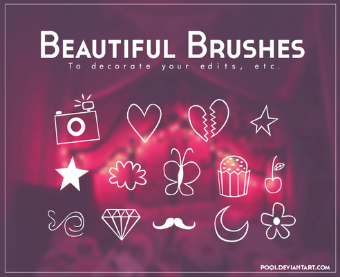 {Beautiful brushes}