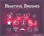 {Beautiful brushes}