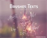 {Brushes Texts}