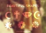 {Beautiful Shapes - BRUSHES}