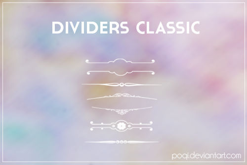 {Dividers Classic - brushes}