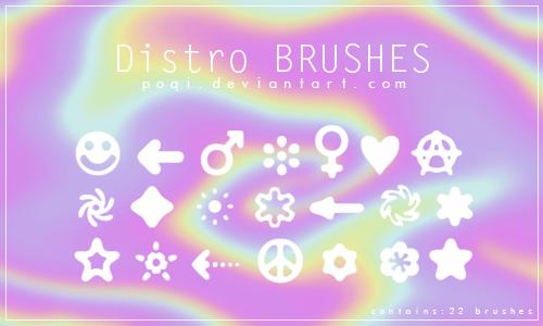 http://poqi.deviantart.com/art/Distro-Brushes-433031404