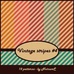 Vintage stripes #4