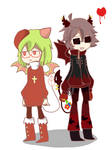 Yosafire and Emalf