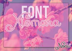+Font ~Xiomara~ by Nonuu