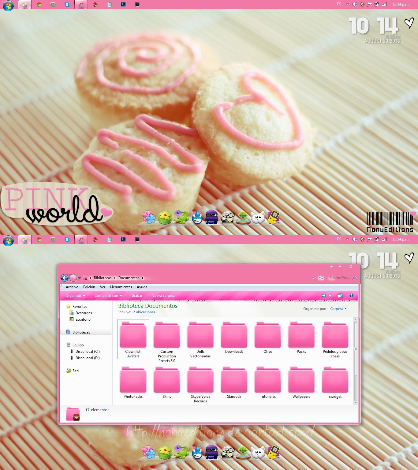 Screenshot ~Pink world~ by Nonuu