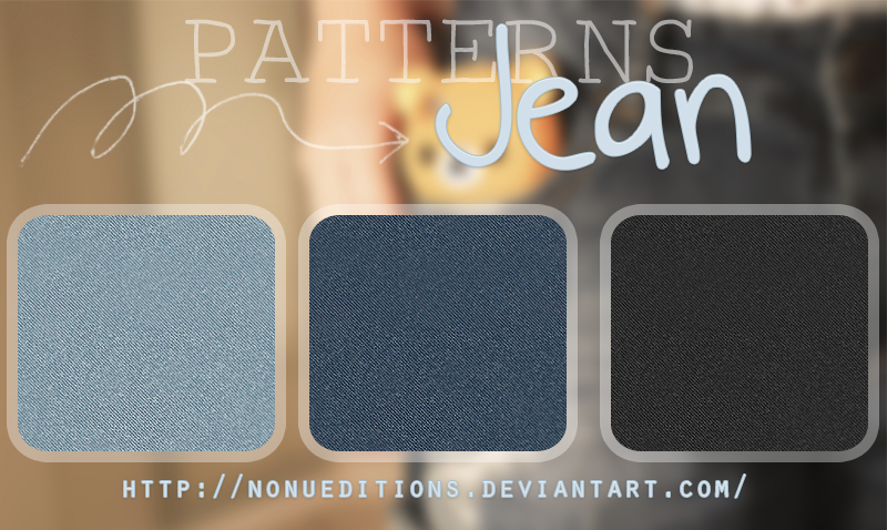 +Jean Patterns by Nonuu