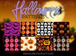 Halloween patterns (.pat)