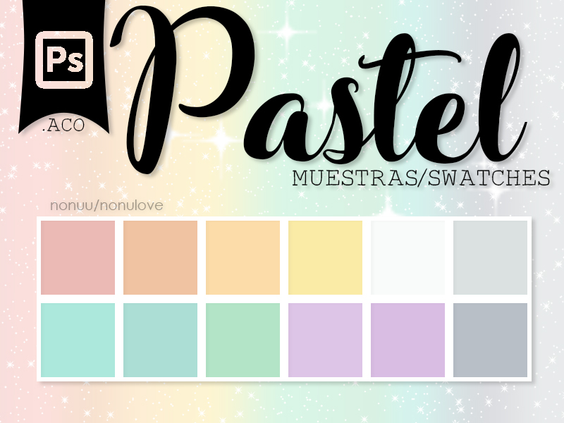 |Ps| Pastel Swatches (.ACO) by Nonuu