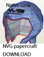 Nerve Gear papercraft