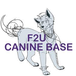 F2U Canine Base by Aaronsaur