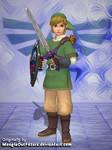 Hyrule Warriors - Link (Skyward Sword) for XNALara