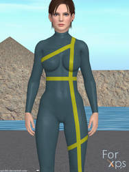 Joanna Dark (360) (Wetsuit) for XNALara by AJD-262