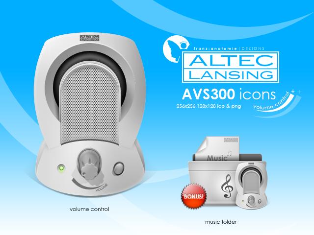 NEW DRIVERS: ALTEC LANSING AVS300