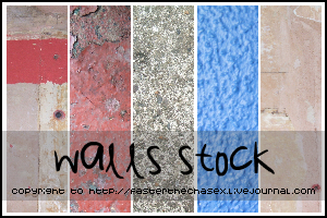 Walls Stock by compactdiscface
