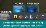 Win7 Start Button - BlueGlass