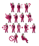 Miles Edgeworth cursors by magical-bra