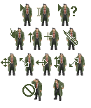 Detective Gumshoe cursors by magical-bra