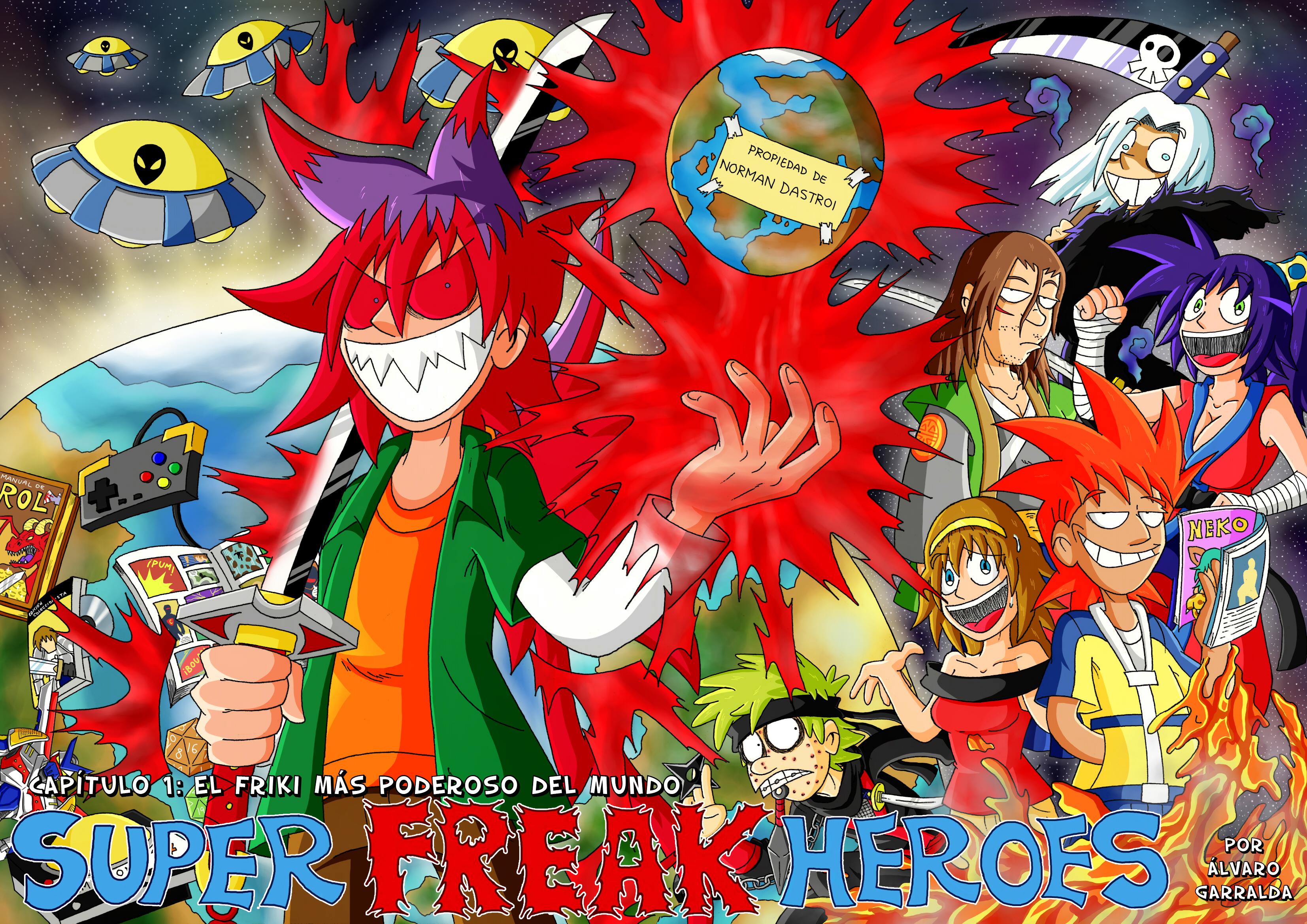 Super Freak Heroes capitulo 01: REMASTERIZADO by Kibaro-Kun