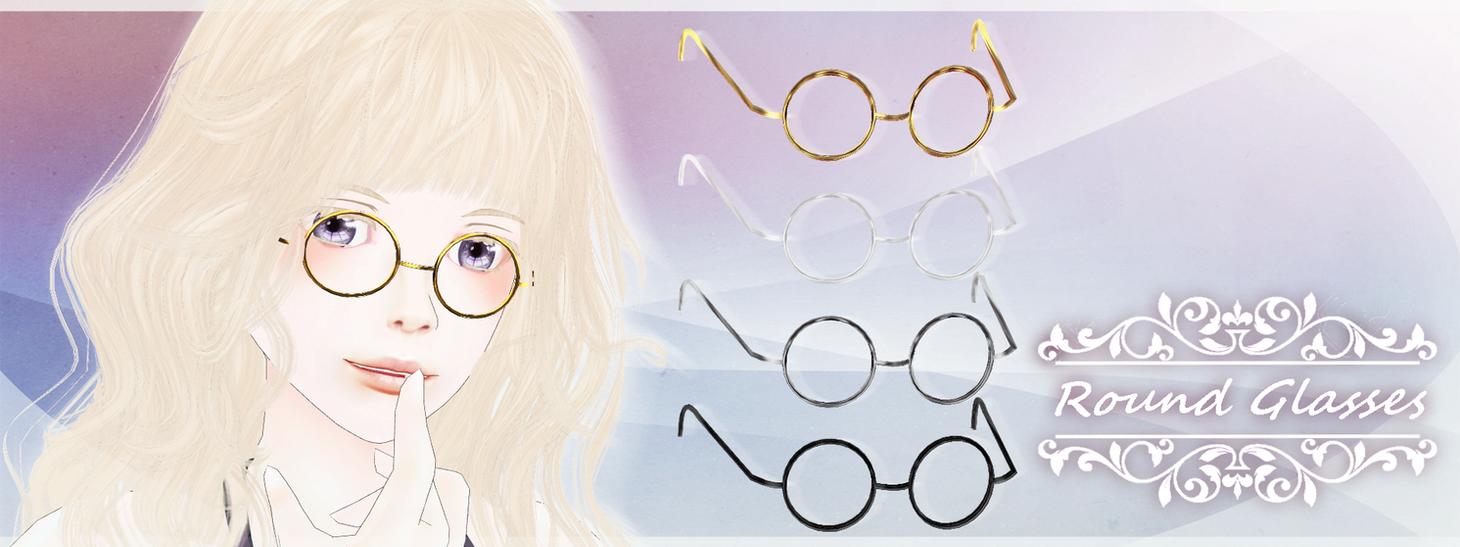 Round Glasses [DL] by Katoroo
