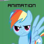 Pinkie being silly - Animation Test [Sound]