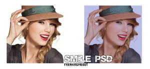 Smile PSD. by freakingmeout