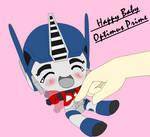 Baby Optimus Prime HAPPY :D by Ayyy-Imma-Ninja