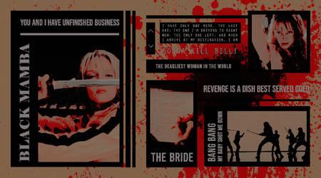 TEMPLATE 22 : BLACK MAMBA - KILL BILL