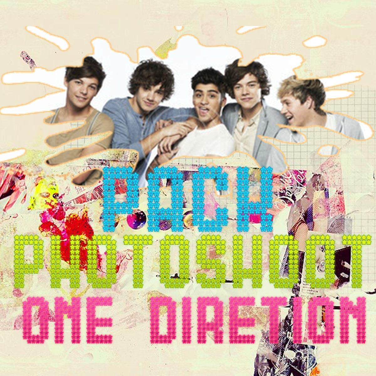 Pack PHOTOSHOOT ONE DIRECTION by luceroval