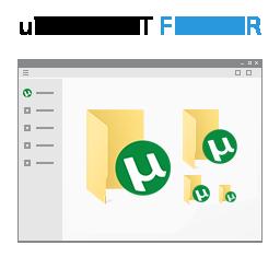 uTorrent Folder Icon Windows 10 by Smallvillerus